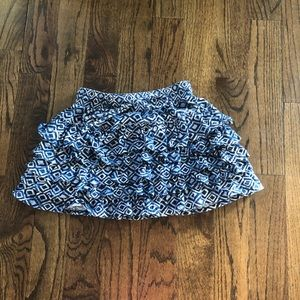 Cute ruffles Aeropostale Skirt